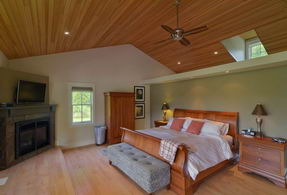 Master Bedroom with Walk-out - Country homes for sale and luxury real estate including horse farms and property in the Caledon and King City areas near Toronto